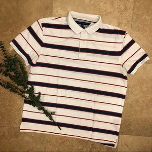 Tommy Hilfiger white polo XL